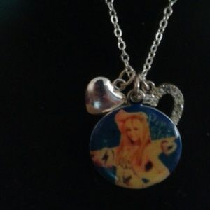 Disney Hannah Montana vintage necklace 3 charms